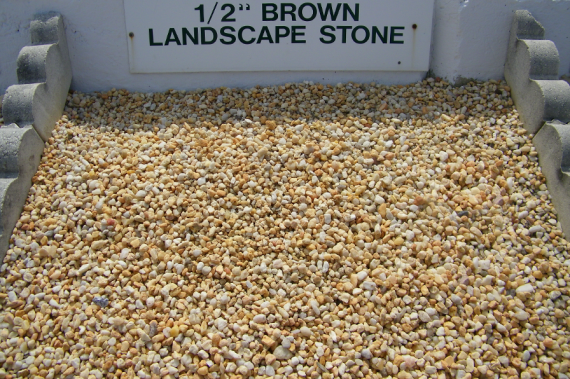 Landscaping Rocks Gravel : Quot brown landscape stone pea gravel westminster lawn
