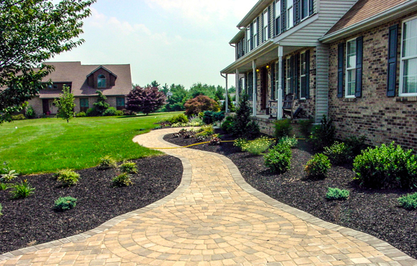 Front yard stone landscaping ideas house decor ideas Backyard landscaping ideas with stones