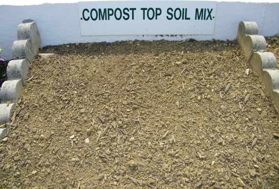 Compost screened topsoil mix westminster lawn for Screened soil