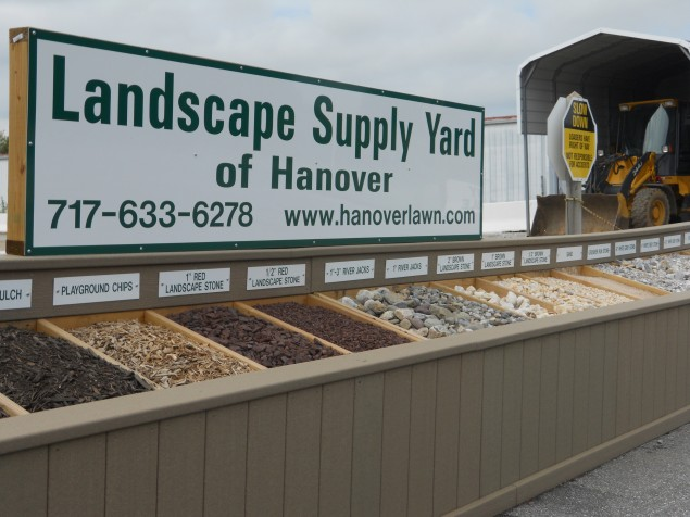 Bulk landscape materials outdoor goods for Gardeners supply company