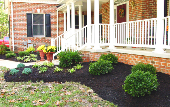 How to make a mulch bed | mulch carroll county
