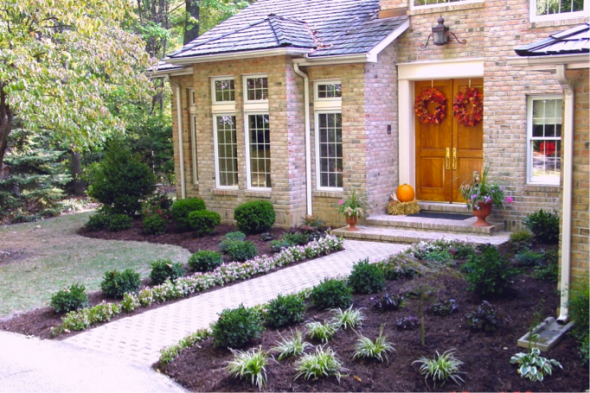 Landscaping With Mulch Ideas : Mulch landscaping ideas garden bed