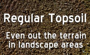garden topsoil, Landscape topsoil, landscape supplies, landscape supply delivery, garden soil delivery, bedding soil, good topsoil, best topsoil maryland