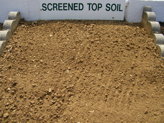 Screened topsoil westminster lawn for Screened soil