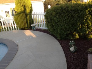 Black Mulch Landscaping Flower Beds