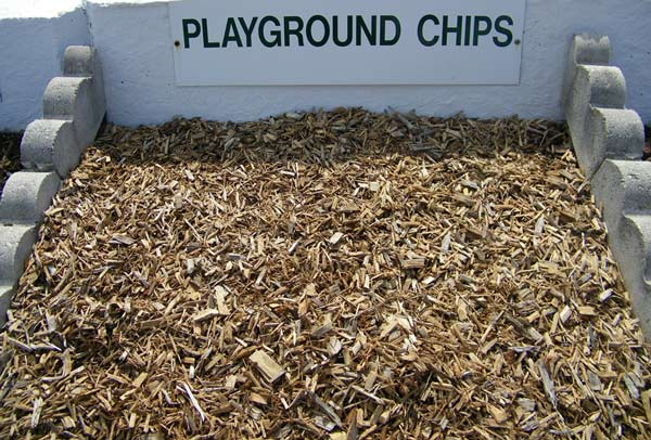 Playground chips sample bin westminster lawn