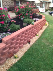 How To Prepare A Garden Bed For Decorative Landscaping Stone